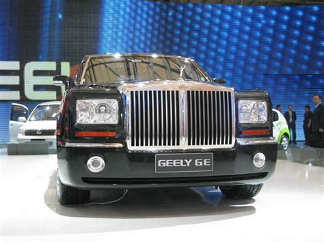 roll royce chinese attack of the chinese clones geely vs rolls royce