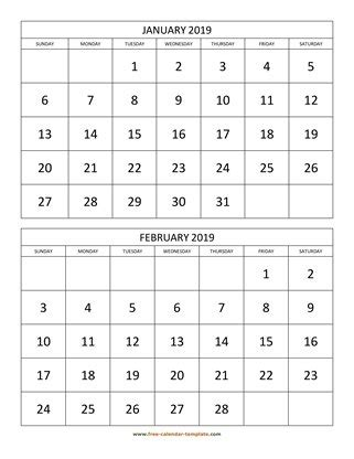 printable monthly calendar   calendar templatecom