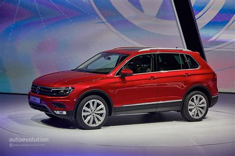 vw volkswagen 2017 2017 volkswagen tiguan is all grown up in frankfurt