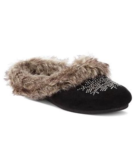 jessica simpson house shoes jessica simpson prettiest faux fur slippers shoes macy s