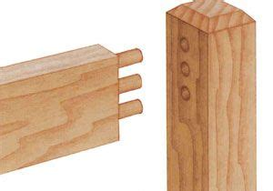 dowel joint furniture woodworking pinterest