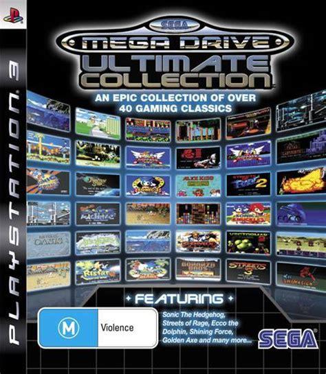 sega genesis classics collection zeeshan mirza s sega mega drive ultimate collection