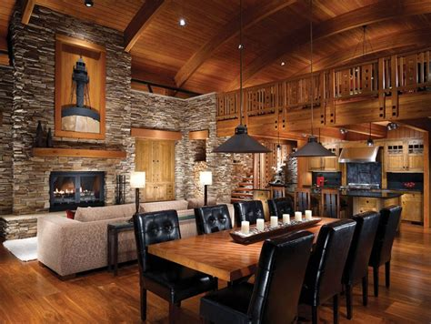 modern log home interiors log cabin interiors for the most comfortable log cabin at