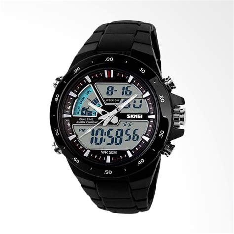 Skmei Waterproof Jam Tangan Digital 1054 jual skmei 1016 digital analog waterproof led sport
