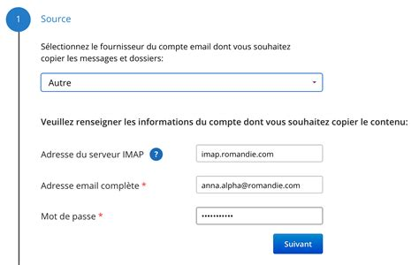 Email Address Password Finder Importing The Contents Of An Email Address From One Email Account To Another