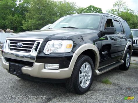 how things work cars 2006 ford explorer security system 2006 ford explorer eddie bauer 4x4 in black b06581 nysportscars com cars for sale in new york