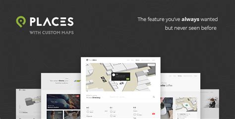 Places Custom Interactive Map Html5 Template By Sekler Themeforest Interactive Html5 Website Templates