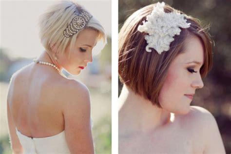 tocados novia pelo corto peinados envidien mi boda