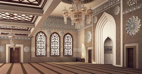 el rayan mosque interior design on behance