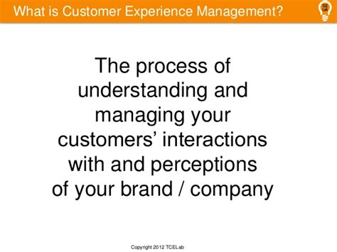 total customer experience management overview tce cem