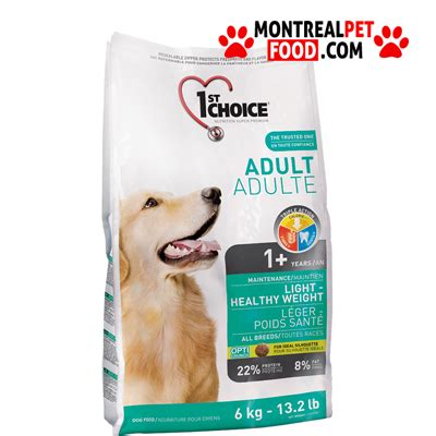 1st Choice Puppy Small Breeds Food 1st choice montreal pet food