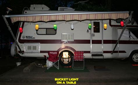 travel trailer awning lights 17 best images about rv mobile home camper on pinterest