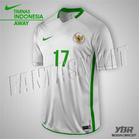 Jersey Indonesia Away Aff 2016 nike jersey 2016 2017