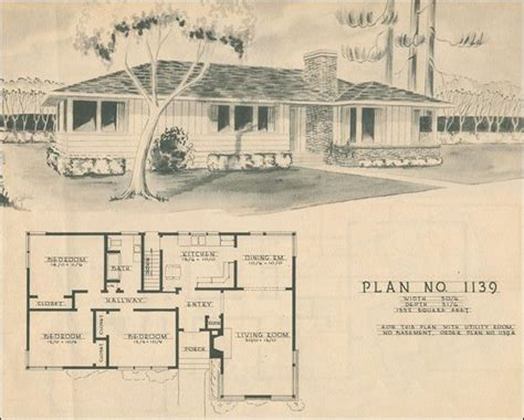 25 Best Ideas About 1950s House On Pinterest Small 1950 Bungalow House Plans