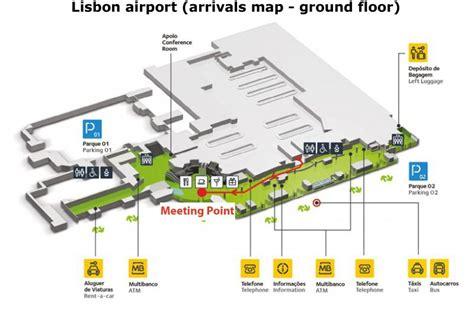 porto to lisbon airport lisbon airport map my