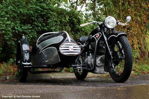 Motorrad Hersteller Dresden emw r 35 3 baujahr 1952 mit seitenwagen gewo dresden