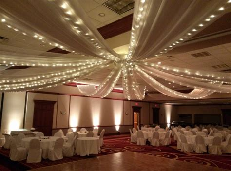 How To Drape A Ceiling For A by Ceiling Swag Pleasers Services