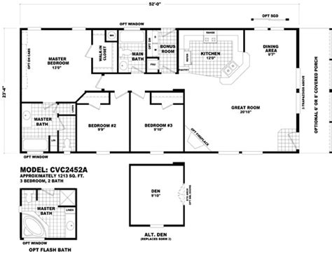 cavco homes floor plans homes by cavco west cedar valley cabins cvc 2452a