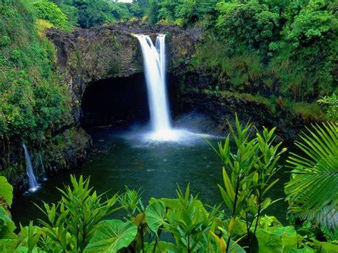 rainbow falls big island hawaii tropical beaches