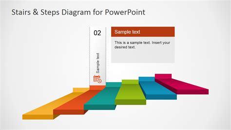step diagrams stairs steps diagram for powerpoint slidemodel