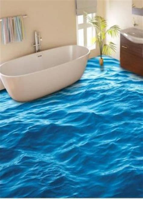 3d bathroom flooring 23 3d bathroom floors design ideas that will change your