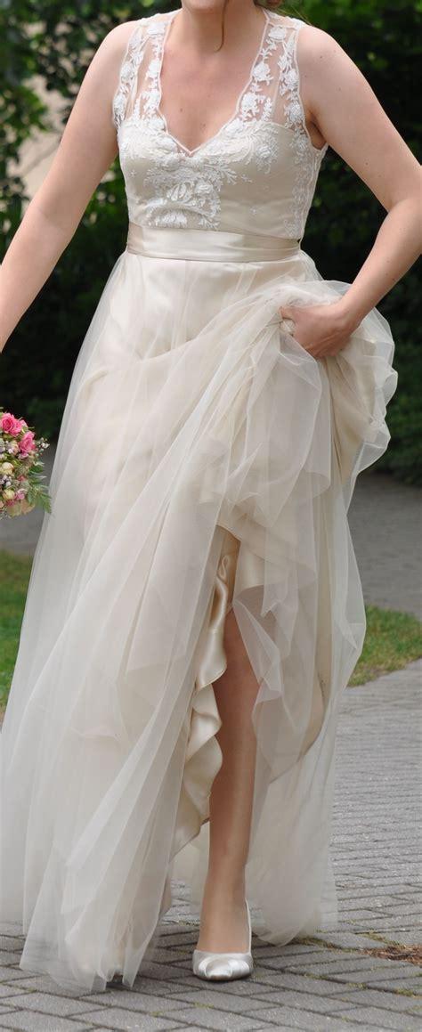 Fã R Hochzeitskleid by Catherine Deane Brautkleid Chagner In Gr 246 223 E 38 F 252 R 999