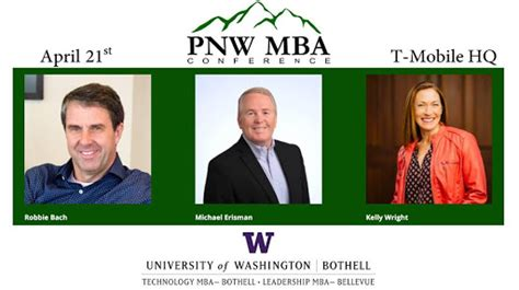 Northwest Mba by The Pacific Northwest Mba Conference Arrives April 21