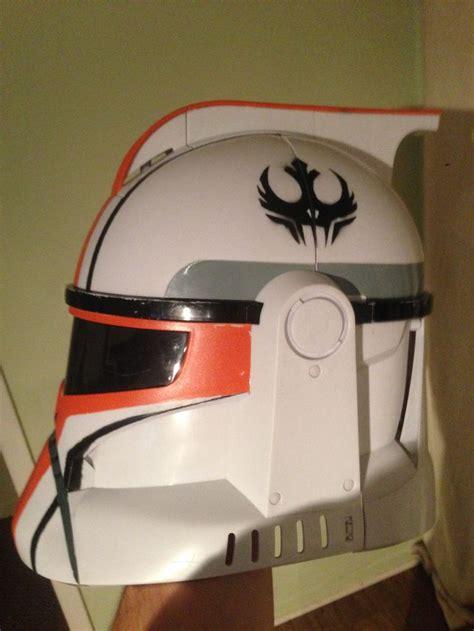 helmet design job paint job on a clonetrooper helmet helmet and armor