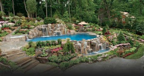 Inground Pool Designs by Piscine Ext 233 Rieure Pour Un Jardin Unique Design Feria