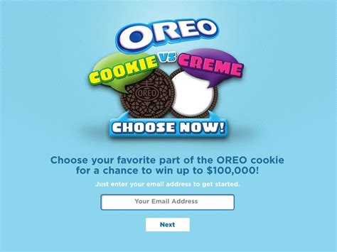 Text Instant Win - oreo cookie vs creme text to win instant win game and sweepstakes