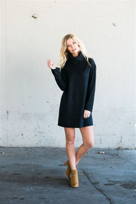 15 turtleneck dresses you will this fall pretty designs