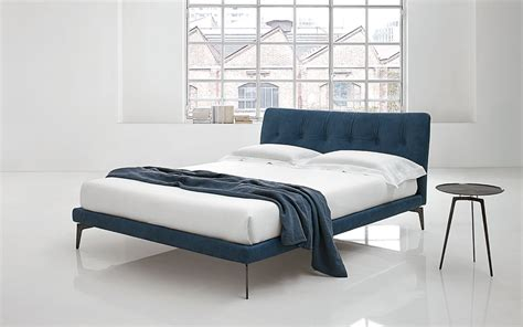 padded headboards for double beds double bed with upholstered headboard arca by alivar
