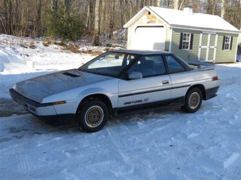 1986 subaru xt 1986 subaru xt coupe awd turbo 5 speed original