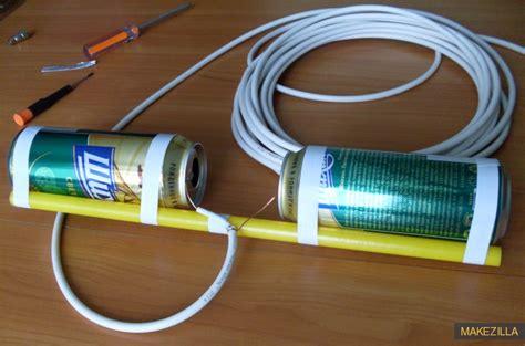 membuat antena tv dari seng membuat antena tv biar bening как сделать антенну из