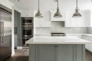 grey kitchen island white kitchen with grey island transitional bathroom