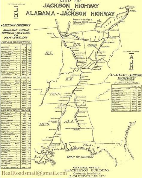 jackson louisiana map louisiana nov 9th nov 11th coast 2 coast in 1922