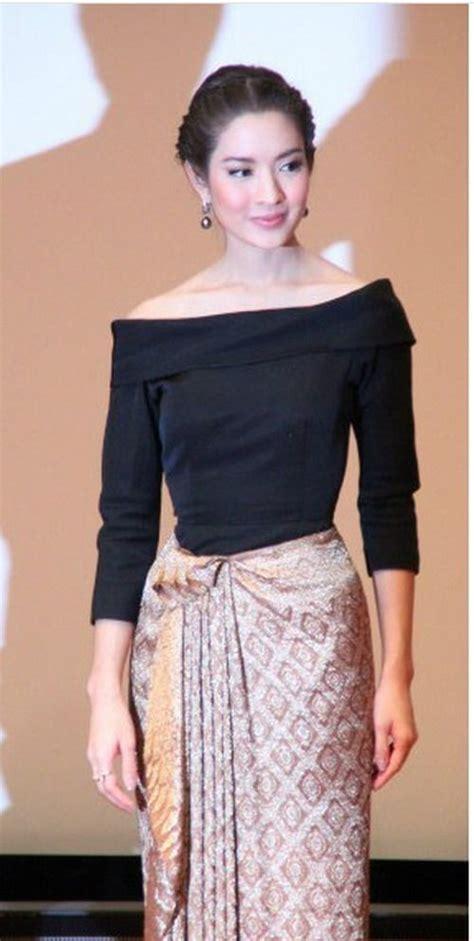 modern thai dress personal style thai