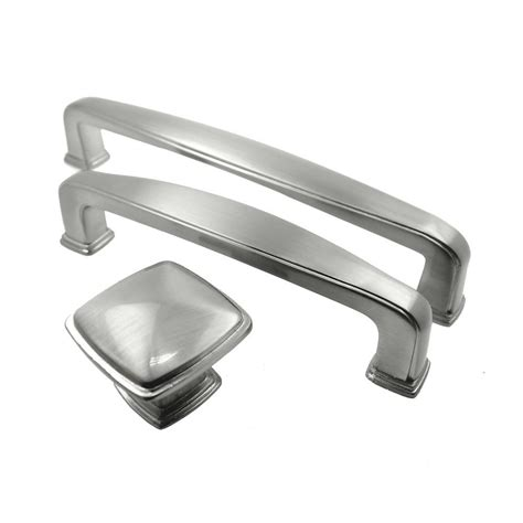 4 inch kitchen cabinet pulls knob 5 1 2 quot 4 1 4 quot inch brushed satin nickel kitchen