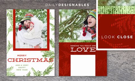 day card template photoshop instantly this glimmery and modern 2014