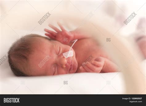 newborn baby after c section premature newborn baby girl in the hospital incubator
