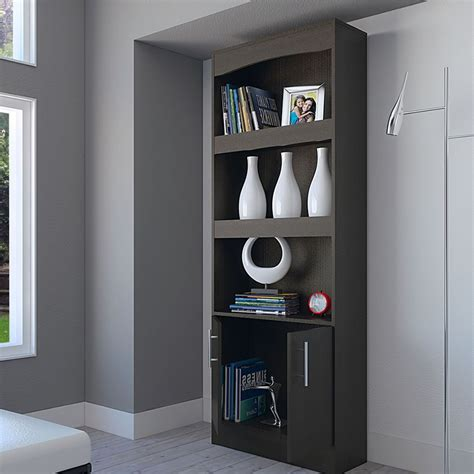 Espresso Book Rack by Book Rack Simma Bookcase With 2 Drawers And 3 Shelf