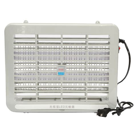 Mosquito Killer L 4 Led 220v 1w led light electronic indoor mosquito insect killer bug fly zapper us alex nld