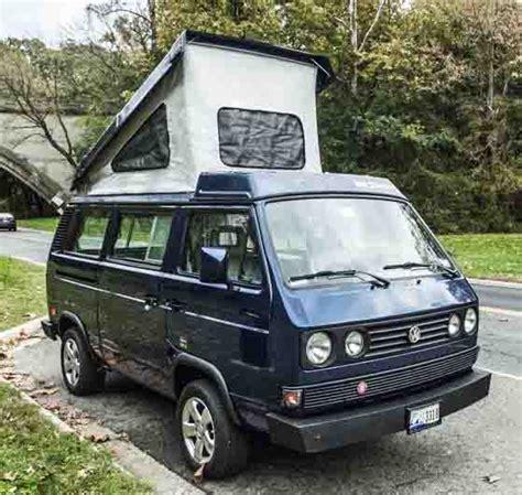 Volkswagen Washington Dc by 1991 Vw Vanagon Westfalia Cer Auction In Washington D C