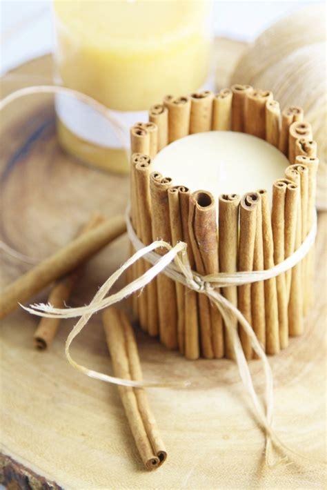 Country Kitchen Decorating Ideas Photos diy cinnamon wrapped candles bell alimento bell alimento