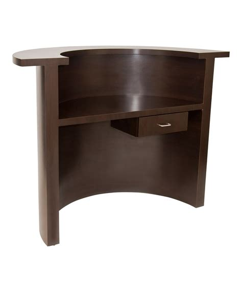 Circular Salon Reception Desk From Buy Rite Beauty Circular Reception Desk