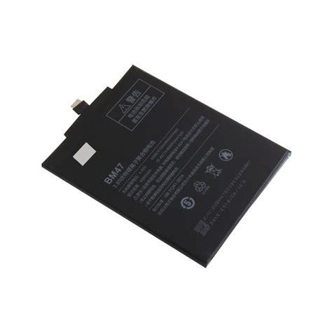Baterai Xiaomi Redmi 3 Bm47 Bm 47 Ori 3 baterai xiaomi redmi 3 4000mah bm47 black