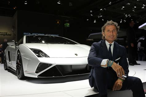 lamborghini ceo stephan winkelmann lamborghini press conference at the 2013 iaa 2013 iaa
