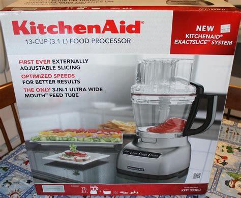 KitchenAid Food Processor Box Opening   YouTube
