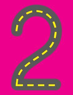 printable road numbers road numbers number formation math and activities