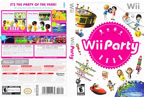 dvd format wii games wii party nintendo wii game covers wii party dvd